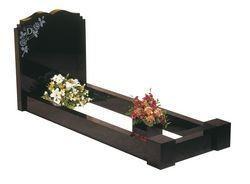 Beautiful kerbed headstone