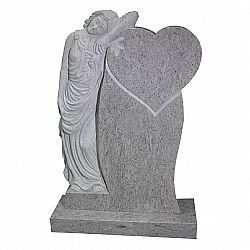 Beautiful rustic and hand carved memorials