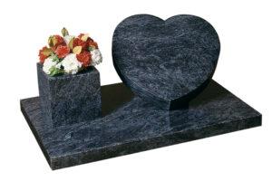 Heart Shaped Headstone