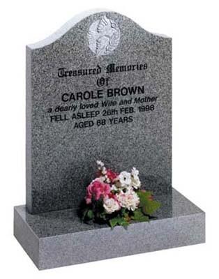 Lawn type memorial