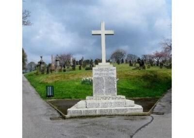 rawtestall cemetery war memorial