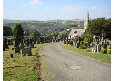 photograph whitworth cemetery
