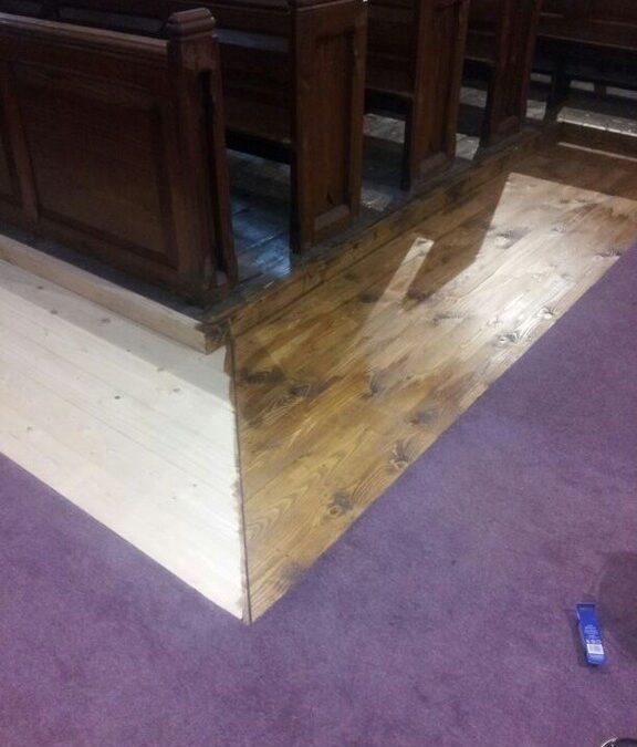 Church woodwork