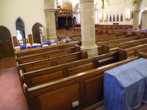 Examples of Alberti Lupton's Woodwork in churches